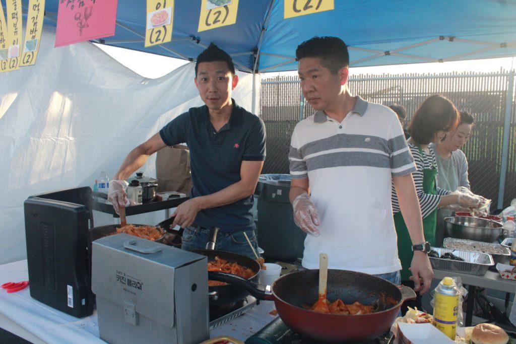 장터풍경_형제들의 요리